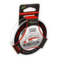ФЛЮОРОКАРБОНОВАЯ ЛЕСКА INTECH FC SHOCK LEADER 50 m (0.418 mm) ТЕСТ: 9.1 KG