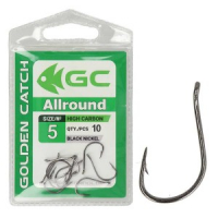 КРЮЧКИ GOLDEN CATCH ALLROUND №12 (10 ШТ)