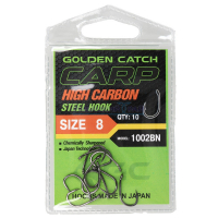 КРЮЧКИ GOLDEN CATCH CARP 1002 BN №6 (9 ШТ)