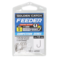 КРЮЧКИ GOLDEN CATCH FEEDER S 1130 NI №15 (12 ШТ)