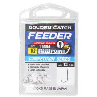 КРЮЧКИ GOLDEN CATCH FEEDER S 1155 NI №16 (12 ШТ)