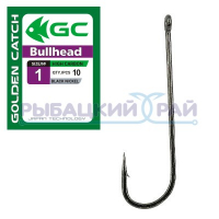 КРЮЧКИ GOLDEN CATCH BULLHEAD №1 (10 ШТ)