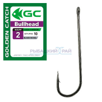 КРЮЧКИ GOLDEN CATCH BULLHEAD №2 (10 ШТ)