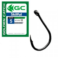 КРЮЧКИ GOLDEN CATCH SKILFUL №12 (8 ШТ)