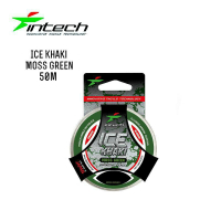 ЛЕСКА INTECH ICE KHAKI MOSS GREEN 50 m (0.148 mm) ТЕСТ: 1.9 KG
