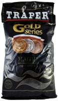 ПРИКОРМКА TRAPER GOLD SERIES MAGIC BLACK 1 KG